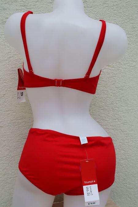 Costum de baie rosu Triumph ieftin