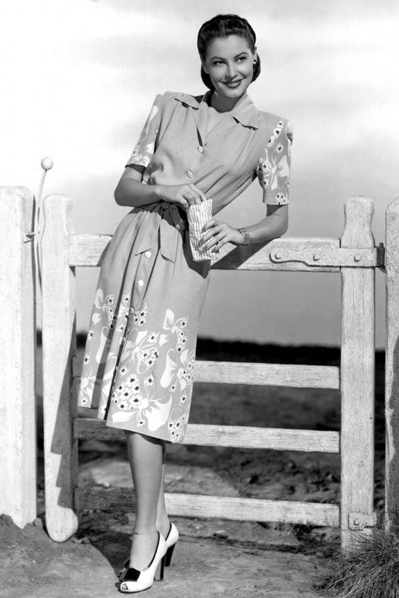 moda anii 40