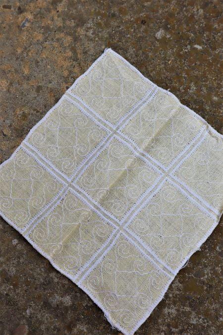 Suport servet textil vanilie second hand ieftin