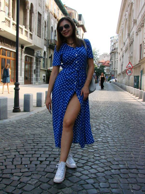 rochie-vintage-anii-90-lunga-buline-bumbac-descheiata-sexi