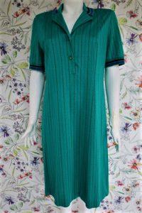 Rochie camasa sport verde vintage