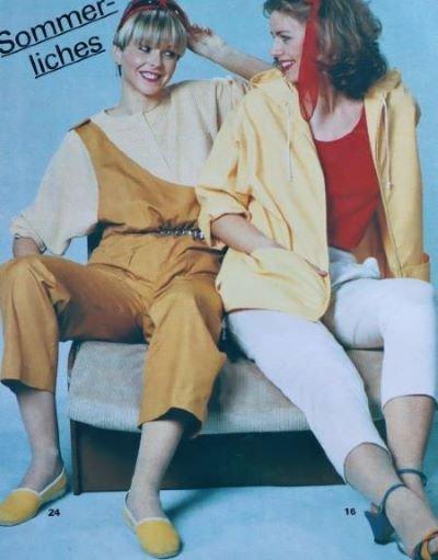 revista moda anii 80