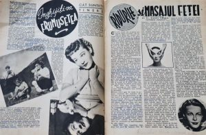 anii 40 romania revista femei