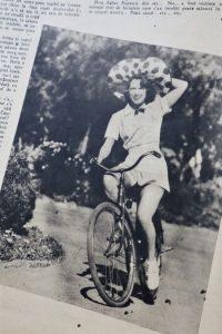 biciclista retro