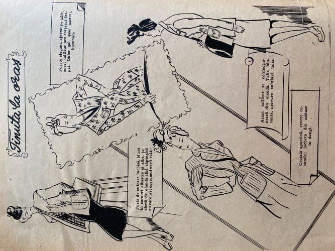 schite moda anii 40 romania
