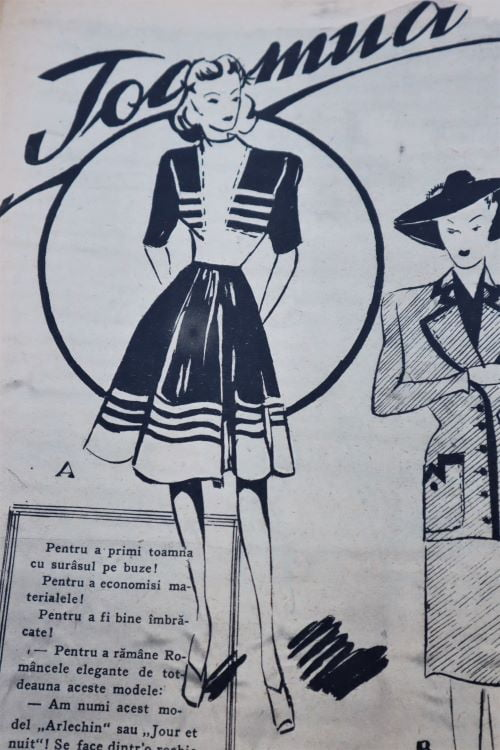 moda anii 40 Romania