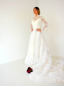 rochie vintage mireasa