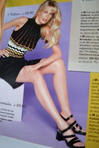 Claudia Schiffer si moda de la sfarsitul anilor 90