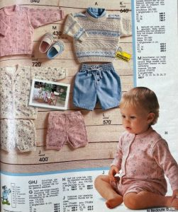 moda anii 90 bebelusi