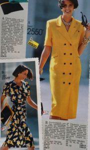 Rochii la moda in anii 90