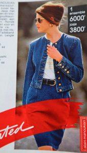 costum blugi anii 90