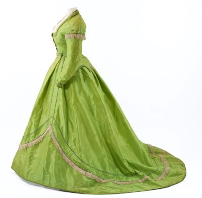 rochie verde arsenic