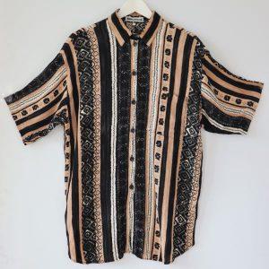 Camasa vintage vascoza creponata