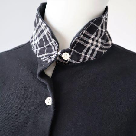 Tricou negru femei Burberry second hand