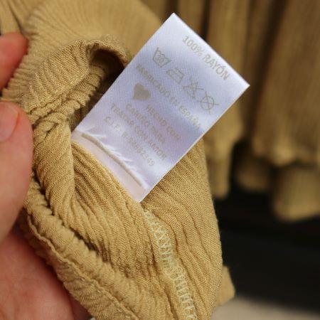 Bluza larga vascoza bej Spania second hand