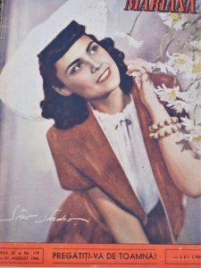 revista moda femei romania anii 40