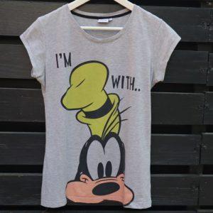 Tricou gri Disney Goofy second hand