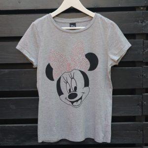 Tricou Disney Minnie Mouse gri second hand