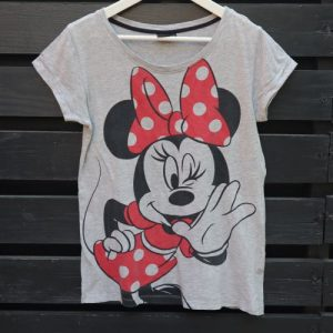 Tricou gri Minnie Mouse second hand