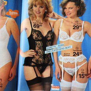 revista moda lenjerie femei anii 80