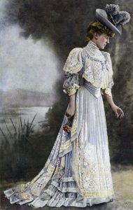 rochie moda 1900